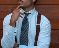 Mens Braces, Suspenders, Suits, People, How To Wear, Fashion, Moda, Fashion Styles, Braces