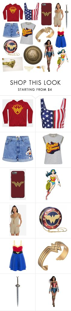 """""""Warrior"""" by belleandbeast ❤ liked on Polyvore featuring Paul & Joe Sister, Alex and Ani and Rubie's Costume Co."""