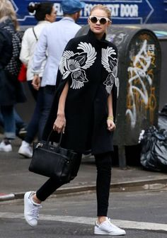 Le look sport chic de Gigi Hadid