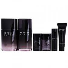Korean Cosmetics_Amore Pacific Odyssey Black Mens Skin Care Set >>> See this great product. Mac Makeup Set, Clinique Makeup, Best Natural Skin Care, Anti Aging Skin Care, Estee Lauder Makeup Set, Childrens Makeup, Cheap Makeup Sets, Makeup Setting Spray, Good Skin