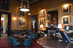 The Morning Room, the Athenaeum Uk Culture, Game Room Bar, English Country Decor, Gentlemans Club, Cigar Room, London Clubs, Second Empire, Architecture Plan, Drawing Room