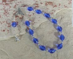 Asteria Pocket Prayer Beads: Greek Goddess of Astrology and Dream Prophecy, Mother of Hekate