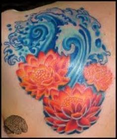 Water Tattoos And Meanings-Water Tattoo Designs And Ideas-Wave Tattoo Designs, Ideas, And Meanings