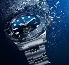 Rolex Deepsea D-Blue Dial 116660 Rolex Watches For Sale, Cool Watches, Dream Watches, Men's Watches, Vintage Watches For Men, Luxury Watches For Men, Elegant Watches, Beautiful Watches, Rolex Deepsea