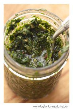 A Recipe For Chimichurri