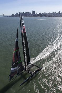 ORACLE TEAM USA '17' flew when we hit the skies during an aerial photo shoot this past week to catch the racing yacht in action.
