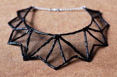 glue necklace front