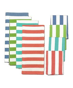 Cabana Stripe Heavyweight Kitchen Cloth Set