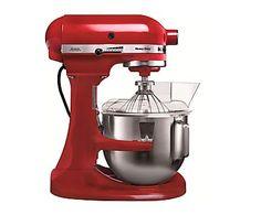 Robot de cocina Kitchen Aid Heavy Duty 5KPM5 EER - rojo