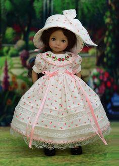 """Darling Tea Party"" Heirloom Dress, Outfit for 13"" Dianna Effner Little Darling | eBay"