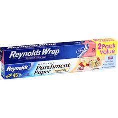 Reynolds Wrap Aluminum Foil & Reynolds Parchment Paper Bundle Pack