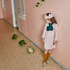 Ivy Dress  Oeuf Fall 2015 collection Foodilicious Kids Knitwear Fashion FW15 AW15