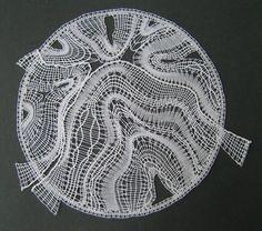 The earth, in bobbin lace.