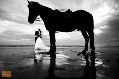 A couple and the horse... :D