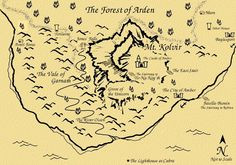 Chronicles of Amber map