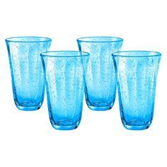 Artland Savannah Highball Glass Set of 4