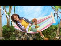 How to Make a Doll Hammock