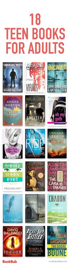 Looking for new books for teens or young adult fiction? Check out our reading list of teen books for adults, including a mix of fiction and other books young adult.