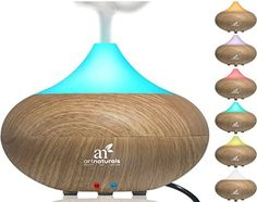 How to Clean Your Essential Oil Diffuser - Equal part of water & vinegar and let soak for a couple hours or overnight.