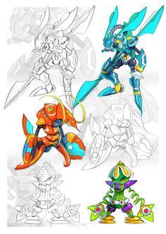 Mavericks II (Pseudoroid Version Concepts) by ultimatemaverickx.deviantart.com on @DeviantArt
