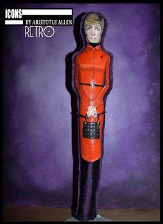 Princess Diana Retro iCONS Primitive Collectible Art Doll #NaivePrimitive