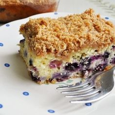 Blueberry Coffee Cake - This is the best blueberry coffee cake ever ...