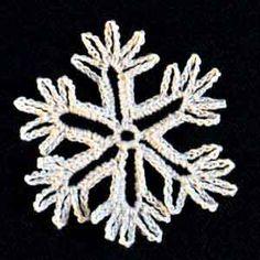 Crochet Snowflake #17