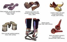 A history of Indian shoes - check the platforms out