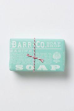 Barr-Co. Soap Bar #anthropologie