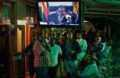 Robert Mugabe in Speech to Zimbabwe Refuses to Say if He Will Resign