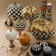 MacKenzie-Childs Dotty Pumpkin – Orange - New Deko Sites Chic Halloween, Halloween Goodies, Holidays Halloween, Halloween Crafts, Halloween Ideas, Pumpkin Art, Pumpkin Crafts, Fall Crafts, Pumpkin Carving