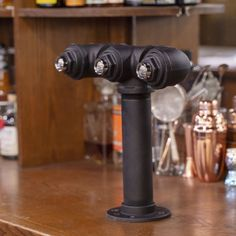 This double faucet draft beer tower adds the unique rustic style of industrial black iron pipe to your bar. Add faucet taps of your choice. Beer Brewing, Home Brewing, Homemade Wine Rack, Beer Tower, Black Pipe, Beer Taps, Iron Pipe, Wine Making, Double Tap