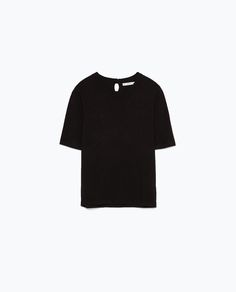SHORT SLEEVE KNIT SWEATER-Knitwear-Woman-COLLECTION AW15   ZARA United States