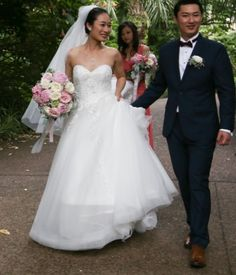 Lily Du got married on 22 Dec 2020. Thank you for sharing your beautiful photos. Lily is wearing Bridal and Ball style 70921 Got Married, Lily, Bridal, Wedding Dresses, Gallery, Photos, How To Wear, Beautiful, Style