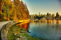 One of my very fave things in all the world ... walking the seawall in Vancouver