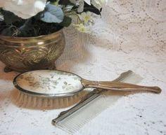Vintage Vanity Comb & Brush SOLD