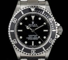 Rolex Stainless Steel Oyster Perpetual 4 Liner Non-Date Submariner Box & Papers 14060M #Rolex #Steel #Oyster #Submariner #Wristwatch #Luxury #Timepiece #WatchCentre #NewBondStreet #Mayfair #London