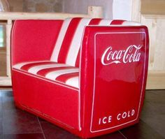 Mancave Coca Cola Chair by Rich in Upcycled Furniture | UpcyclePost
