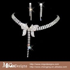 Wholesale Migodesigns Gold Plated butterfly Jewelry Sets Fashion Earrings&Necklace Sets For Women Wedding Jewelry
