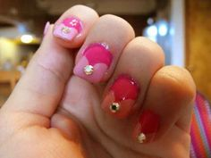 Channel a Disney princess with nail art.
