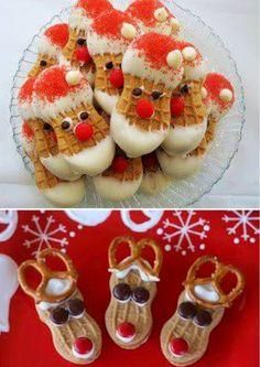 All I can think about is baking at Christmas time...Nutter butter Christmas treat ideas #Christmas #goodies