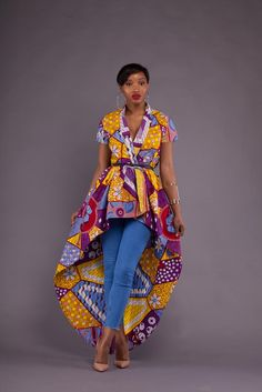 Check out these trendy style photos Most Trendy Ankara Styles from our Ankara Catalogue African Inspired Fashion, African Print Fashion, Africa Fashion, Fashion Prints, African Prints, African Attire, African Wear, African Women, African Dress
