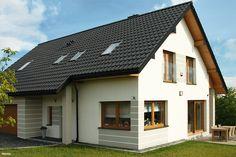 Projekt domu Dom w idaredach Realizacje - ARCHON+ My Home Design, House Design, Best Tiny House, House Made, House Plans, Exterior, Building, Outdoor Decor, Home Decor