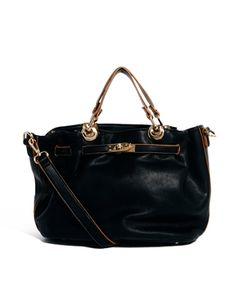 Oasis Pumpkin Lock Detail Shoulder Bag | Asos.com