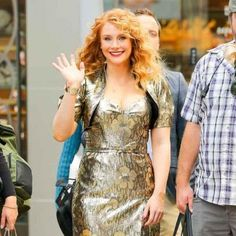 Bryce Dallas Howard plans to wear rubber soles for 'Jurassic World' sequel