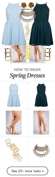 """""""#Spring"""" by adsilarose on Polyvore featuring BP., Liliana, New Look, Chanel and TheSpringFormal"""