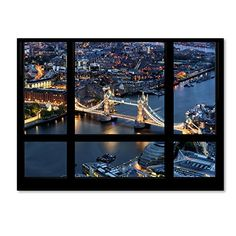 "Trademark Fine Art Window View London Bridge 2 by Philippe Hugonnard Wall Decor, 35 x 47"" Trademark Fine Art http://www.amazon.com/dp/B011N611MK/ref=cm_sw_r_pi_dp_KH0Uvb10DKRH0"
