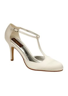 Chaussures mariage ivoire