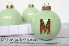 Hometalk :: DIY Jadeite Ornaments