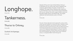 Orkney is a geometric typeface designed and conceptualised by Samuel Oakes & Alfredo Marco Pradil. The goal in creating the typeface was to have a...